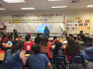 Migrant students get creative when preparing for school year
