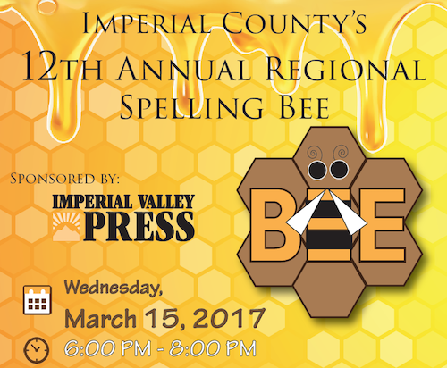 Flyer for Annual Spelling Bee