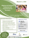 Aligning and Designing Designated and Integrated ELD for Secondary