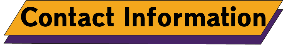 Contact Information Logo