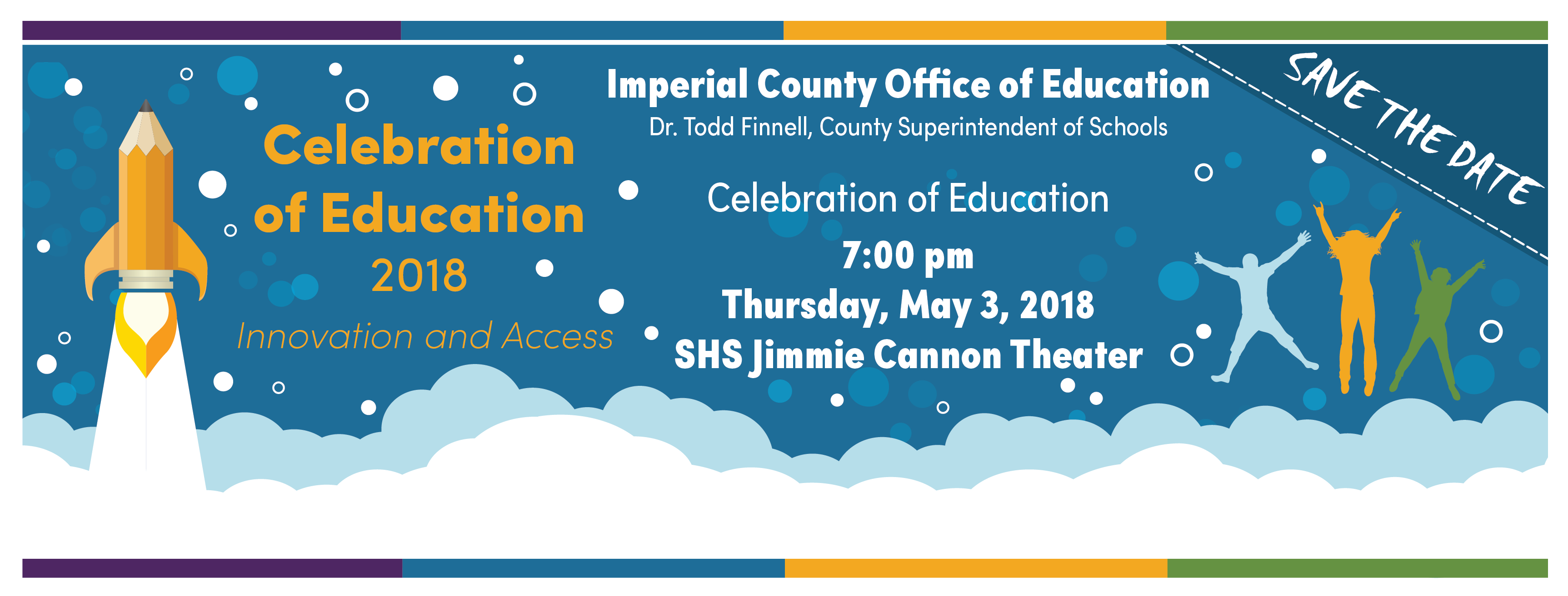 Promo: Celebration of Education on May 3rd