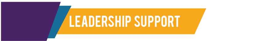 Leadership Support Header