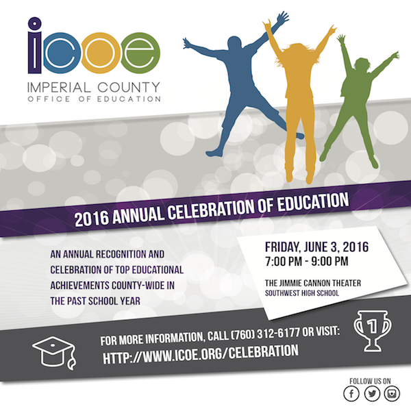 Celebration of Education - June 3, 2016