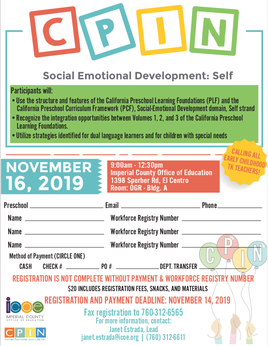 Registration Flyer