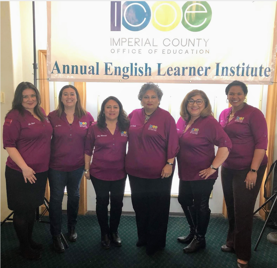 CRLP Teacher Leaders - Sabrina Flores, Sandra Ross, Nancy Montaño, Isaura Badillo, Sandra Terán and former director Queana Givens-Jarvis