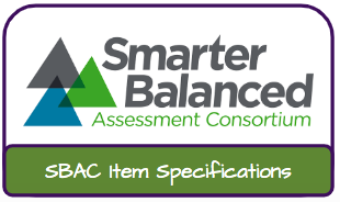 SBAC Item Specifications