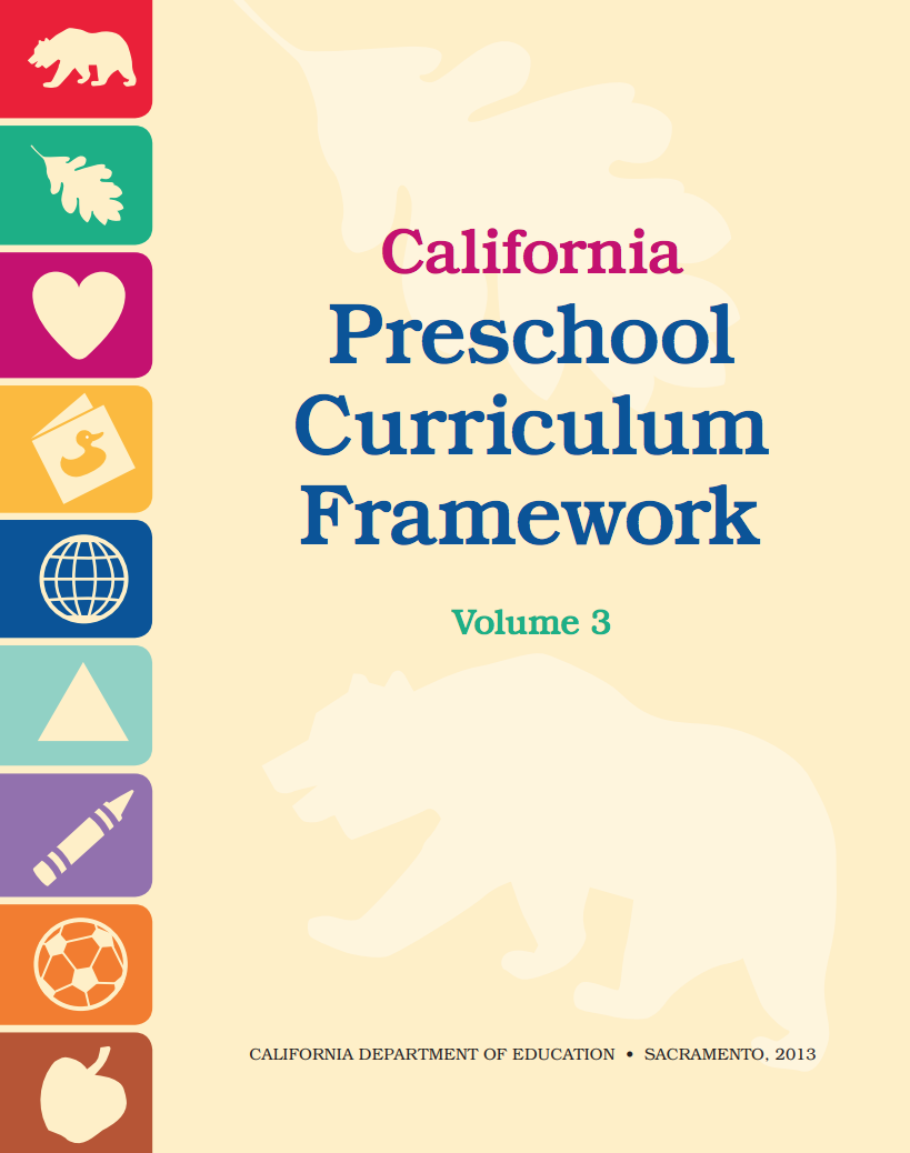 Preschool Curriculum Framework Vol. 3
