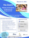 Via Zoom Aligning and Designing Designated and Integrated ELD