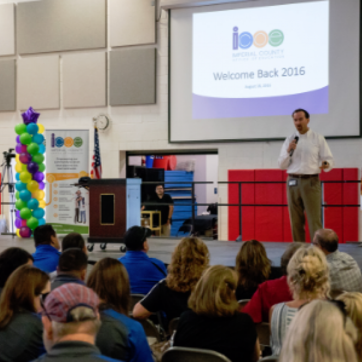 ICOE All-Staff Back to School Event